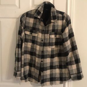 Madewell Buffalo plaid shirt/jacket